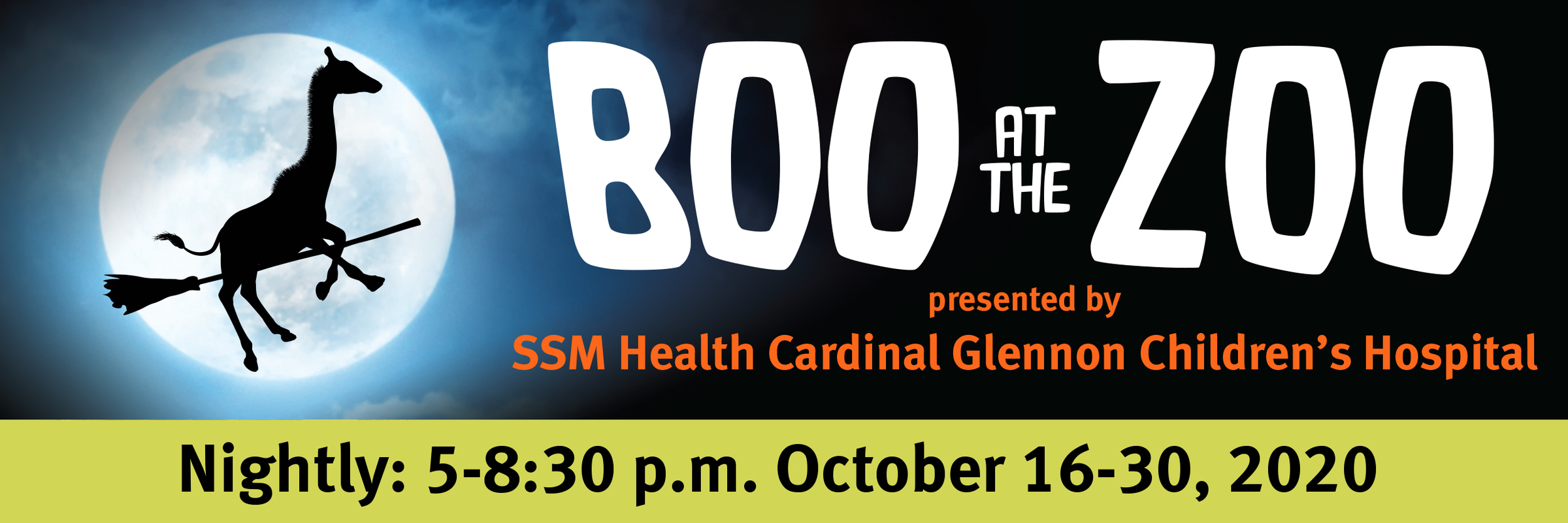 Halloween Events In St. Louis Missouri 2020 Boo at the Zoo presented by SSM Health Cardinal Glennon Children's