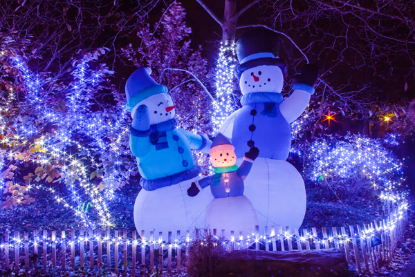 celebrate the season with one of the top zoo lights displays in the country - Christmas Lights At The Zoo