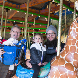 Conservation Carousel 5 millionth riders