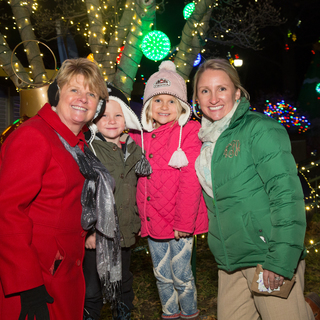 Wild Lights Visitors 151201Zoo8032 Saint Louis Zoo