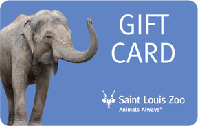 Zoo Gift Card Saint Louis Zoo
