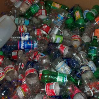 Recycling soda bottles and other plastics