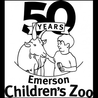 Children's Zoo 50th Anniversary Logo